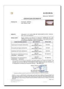 Certificado baneras